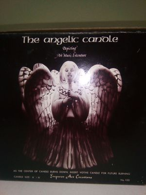 "Vintage Emperor Art Creations The Angelic Candle Circle Of Angels 6""x6"" for Sale in Lorton, VA"