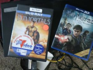 Blu-ray player and movies for Sale in Modesto, CA