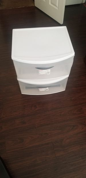 Plastic drawers for Sale in Stanton, CA