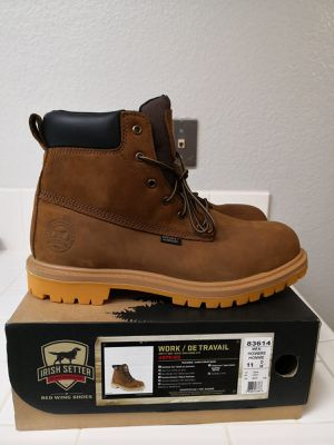 Brand new Red Wing work boots for men. Size 11. Steel toe. Waterproof. for Sale in Riverside, CA