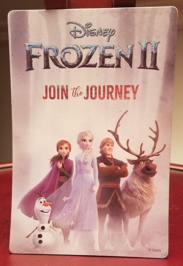 "Disney Frozen 2 Join the Journey movie magnet 4x6"" magnet"