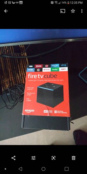 Amazon fire cube for Sale in Portland, OR