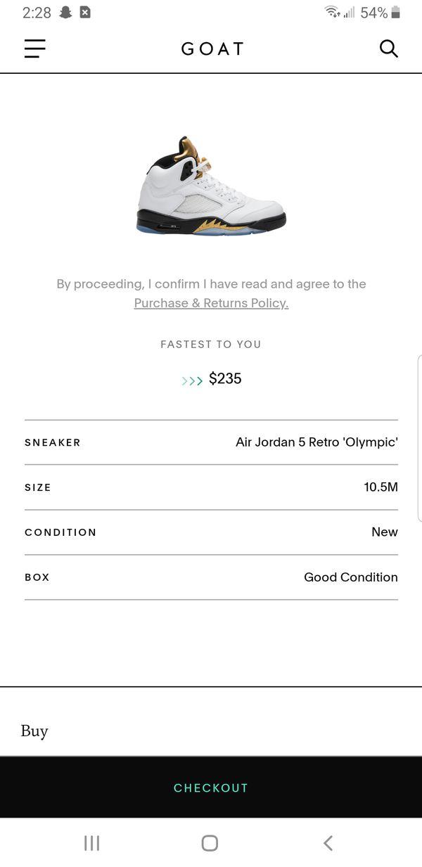 Air Jordan 5 Retro 'Olympic'