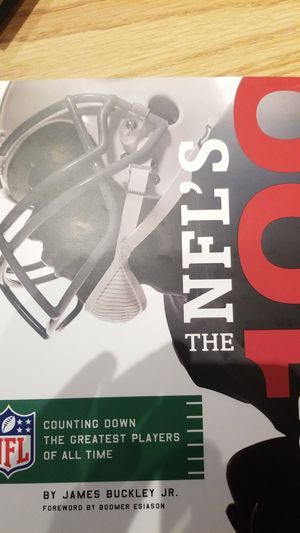 NFL'S Top 100 hardcover book for Sale in Macedonia, OH
