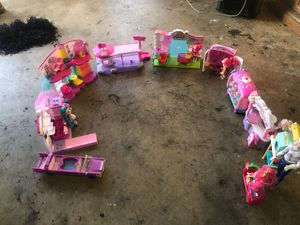 Toy lot shopkins lps Barbie mix for Sale in Rialto, CA