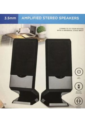 Onn Amplified AUX In-Line Stereo Speakers for Sale in San Jacinto, CA