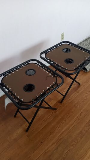 Outdoor end tables for Sale in Hampton, VA