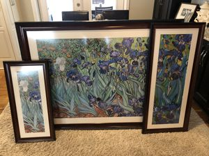 Van Gogh print 3 piece set for Sale in Lorton, VA