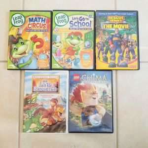 Primary aged DVD set of 5 for Sale in Renton, WA