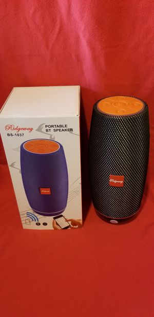 Rechargeable Bluetooth Wireless Speaker Sd Card,Usbflash Drive Fm Radio Speaker ( Bosina ) Bz2 for Sale in Moreno Valley, CA