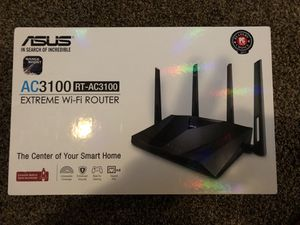 ASUS AC3100 GAMING ROUTER for Sale in Oxford, MA