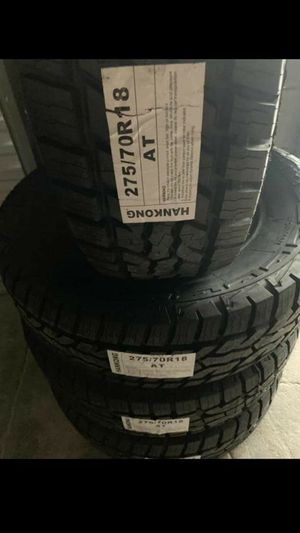 BRAND NEW SET OF TIRES 275 70 18 for Sale in Phoenix, AZ