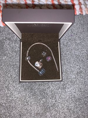 Pandora charm bracelets with charms for Sale in Blythewood, SC
