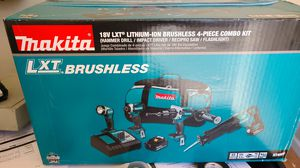 MAKITA 18V LXT 4 PIECE COMBO KIT (BRAND NEW) for Sale in San Diego, CA