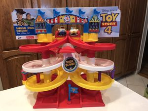 New Toy Story 4 Carnival Speedway for Sale in Downers Grove, IL