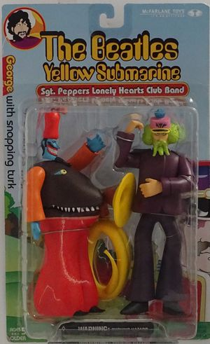 The Beatles Yellow Submarine George W/ Snapping Turk Action Figure Collectible for Sale in Glen Mills, PA