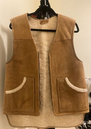 Men's Sheepskin Rancher Vest for Sale in Rockville, MD