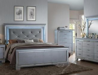 ••Limited Time••🌟🌟BEDROOM SET: QUEEN BED + NIGHTSTAND+ DRESSER+ MIRROR (**Mattress and Chest not included**)🌟🌟 for Sale in Rowland Heights,  CA