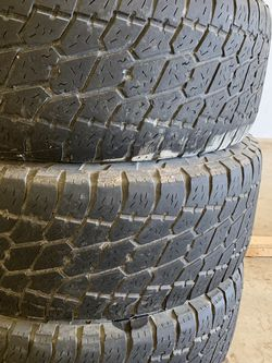 Nitto Terra Grappler LT 295 75 R17 Tires Used Tires for Sale in Justin,  TX