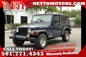 2005 Jeep Wrangler for Sale in West Palm Beach, FL