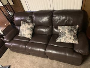 leather Couch for Sale in Kent, WA