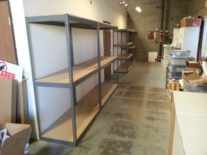 Garage Shelving Boltless Storage Racks 4 ft W x 2 ft D NEW - Delivery Available - Pickup in Duarte for Sale in Upland, CA