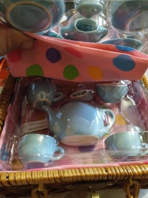 Children's porcelain tea cups 40 years old still new for Sale in Orlando, FL
