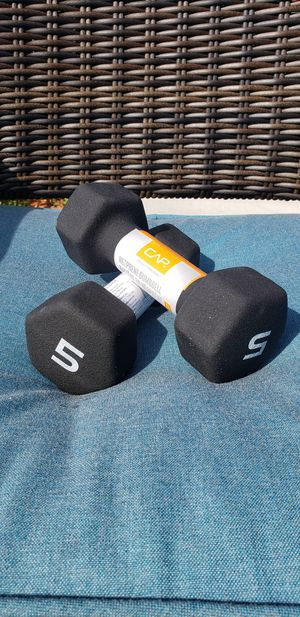 CAP Dumbbells 10lbs Total Pair $20 (NEW) for Sale in Evergreen Park, IL