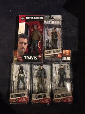 Walking dead collectibles for Sale in Queens, NY