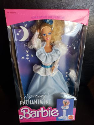 Evening enchanted 1989 barbie doll for Sale in Colton, CA
