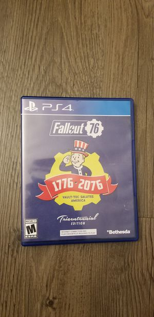 Fallout 76 PS4 for Sale in San Marcos, CA