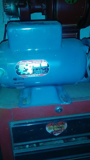 Dayton 3/4 hp motor for Sale in Hayward, CA