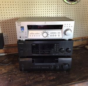 Home Stereo Receiver Amplifier for Sale in Mount Prospect, IL