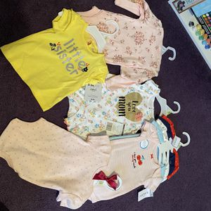 Baby girl Outfit, Black tights jacket and onesie Size 9mo for Sale in Philadelphia, PA