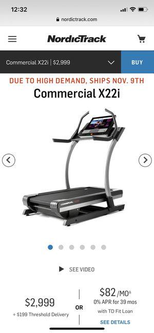 NordicTrack x22i treadmill for Sale in Laguna Niguel, CA