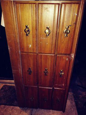 9 Drawer Wooden Dresser for Sale in Leesburg, FL