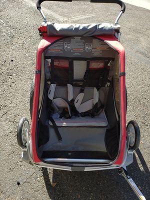 Thule chariot cougar 2 bike trailer/ jogger/stroller for Sale in Vista, CA
