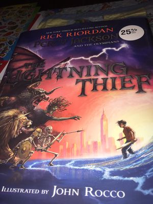 The Lightning Thief Illustrated book *new* for Sale in Oregon City, OR
