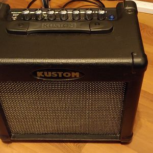 Kustom Guitar Amplifier w/ Effects KGA10FX 10 Watt for Sale in Peoria, AZ