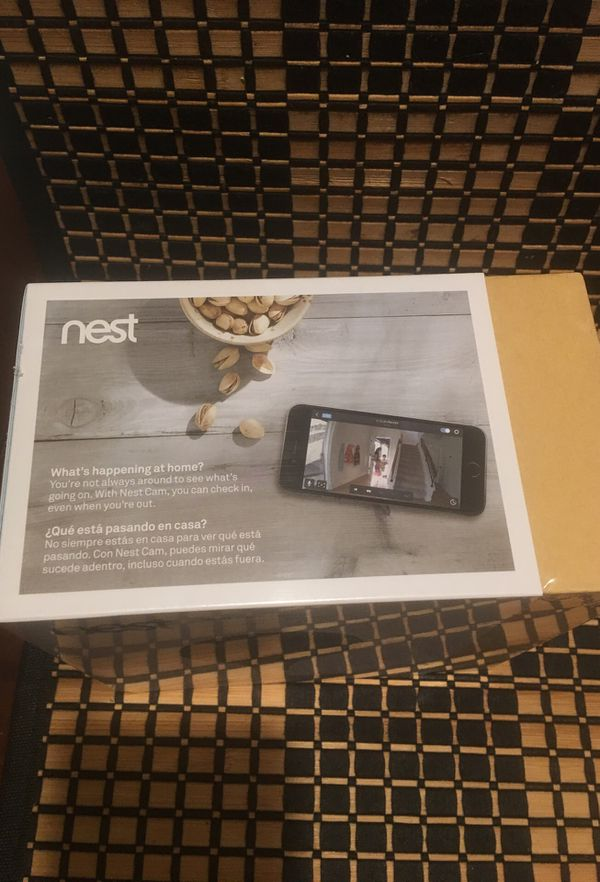 Nest cam indoor camara