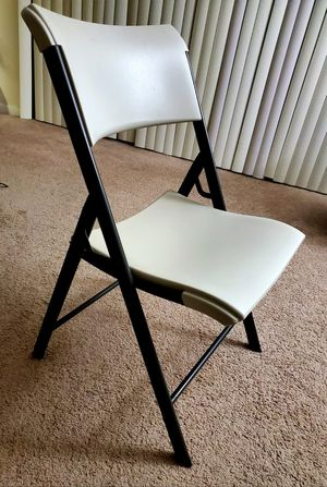 Lifetime folding chairs for Sale in Falls Church, VA