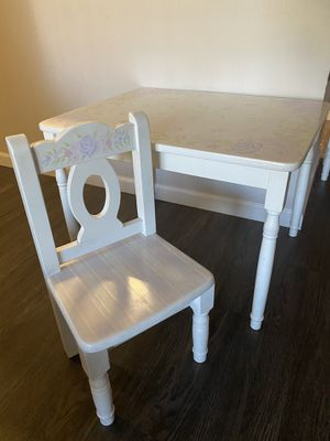 Little girls table and chairs for Sale in San Jose, CA