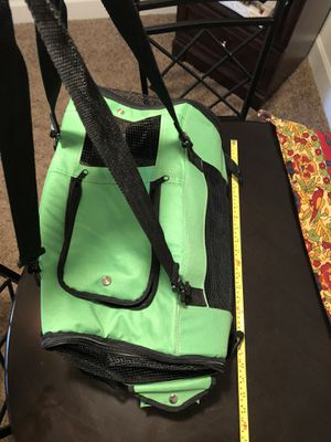 Like new small dog carrier...car seat..soft kennel... for Sale in Spring Lake, NC