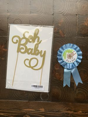 Baby Shower decorations for Sale in Cary, NC