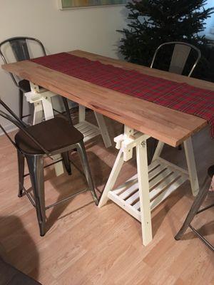 Wood top desk. for Sale in Miami, FL