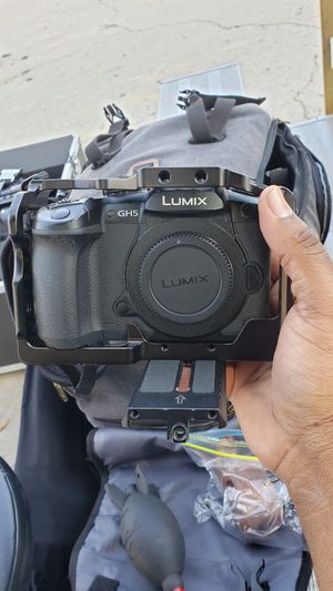 Best Priced GH5 Camera (V-Log Upgraded with Accessories) for Sale in Culver City, CA