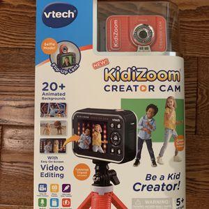 VTech KidiZoom Creator Cam HD Video Kids' Digital Camera, Green Screen for Sale in Fullerton, CA