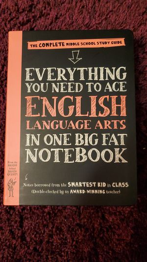 Everything you need to ace ENGLISH LANGUAGE ARTS for Sale in Brownsville, TX