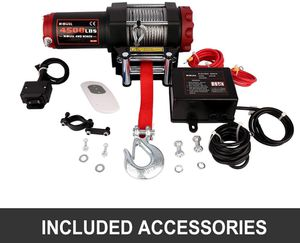 Off road , desert , racing xbull winch 4500lbs for Sale in San Diego, CA