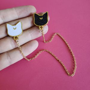 Sailor Moon Luna and Artemis pins for Sale in Las Vegas, NV